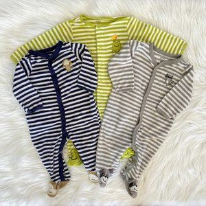 Carters Baby Boy Terry Cloth Footed Sleeper 6M